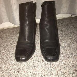AEROSOLES Shoes - Black leather boots